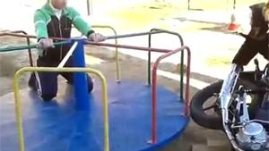 Motorized Merry Go Round Fail