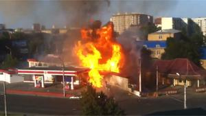 Exploding Gas Station