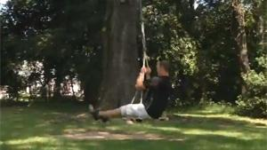 RC Powered Swing
