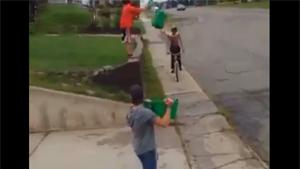 Ice Bucket Bike Challenge Ends Painful