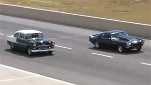 Dragracer Wrecks Classic Chevy