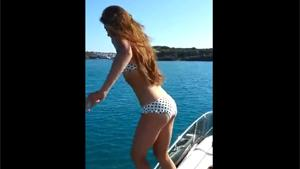 Jump From Yacht Fail