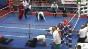 Boxer Knocks Out Referee