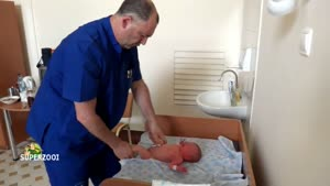 Bizarre Baby Examination By Russian Doctor