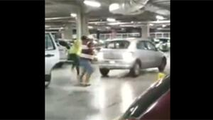 Extreme Road Rage Over Parking Space