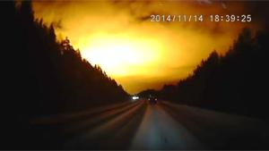 Mysterious Explosion In Russian Sky