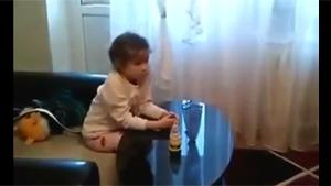 Toddler Watches Some Dubious Cartoon