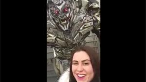 Megatron Doesn't Like Selfies