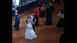 Kid Dancing Crazy On Wedding