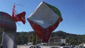 Sudden Tornado Destroys Fair
