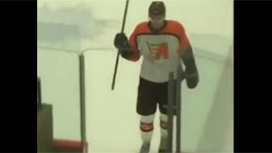 Hilarious Ice Hockey Player Fail