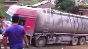 Towing Truck Ends In Disaster