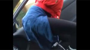 Twerking In Driving Car Fail