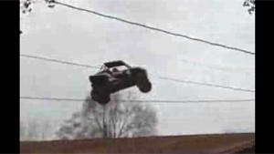 Another Crazy Stunt In Redneck Country