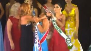 Miss Brazil Attacked At Beauty Pageant