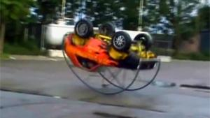 Roll Over Mini Car