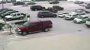 Driver On Rampage In Parking Lot