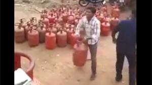 Loading Gas Cylinders