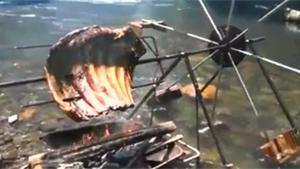 Water Powered BBQ