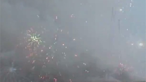 Destruction Of Illegal Fireworks