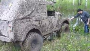 Offroad River Crossing Fail