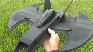 Flying RC Batwing