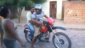 Drunk Motorbike Driving Fail