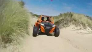 Dune Race Ends In Crash