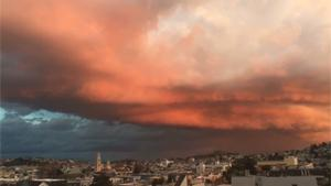Beautiful Thunder Cloud Over SF