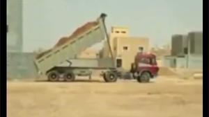 Dumper Truck Has Enough Of Life