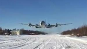 Propeller Plane In Slow Motion