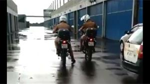 Police Motorbike Training Fail
