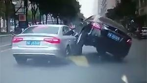 Crazy Road Rage In China
