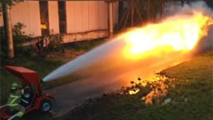 Flamethrower vs Watergun