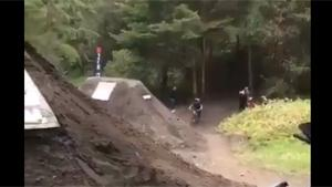 Crazy Bike Jump Goes Wrong