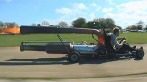 Home Built Epic Jet Kart