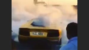 Lamborghini Burns To The Ground