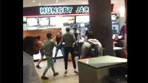 Brawl In Fast Food Restaurant