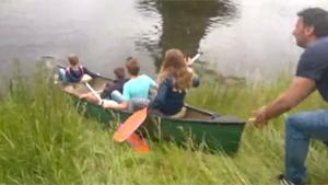 Shortest Canoe Trip Ever