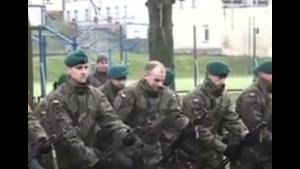 Epic Fail At Military Salut