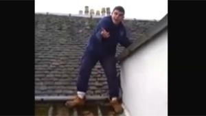Getting Off Ramshackled Roof