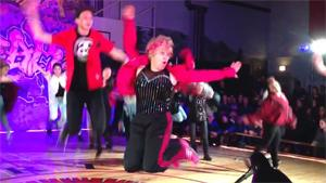 Granny Kills It On The Dancefloor