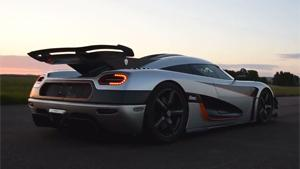 Koenigsegg One Doing 0-300-0 KMH