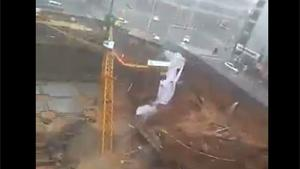 Collapsing Tower Crane