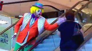 Asshole Clown On Pie Frenzie