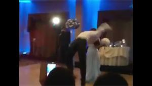 Groom Ruins Wedding Dance