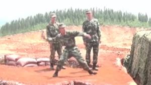 Chinese Soldier Let Grenade Slip
