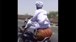 Driving Bike In India