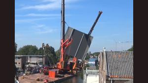 Hoisting Bridge Ends In Disaster