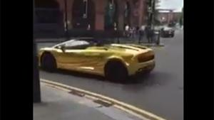 Crashing Gold Wrapped Gallardo